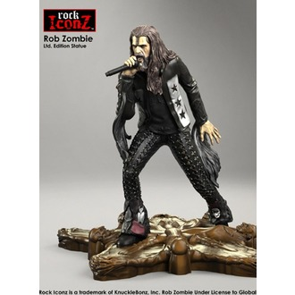 Statua/Figurica Rob Zombie - Rock Iconz, KNUCKLEBONZ, Rob Zombie