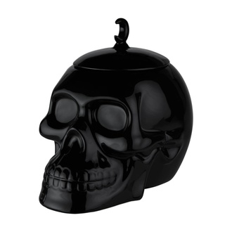 Ukras (staklenka za bomboe) KILLSTAR - Skull Cookie Jar - BLACK, KILLSTAR