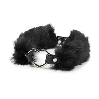 Choker ogrlica KILLSTAR - Venus Fur Choker - Black - K-JEW-F-2785, KILLSTAR