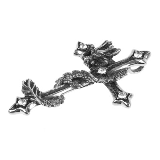 Ogrlica s privjeskom ETNOX - Dragon Cross, ETNOX