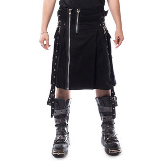 Muški kilt CHEMICAL BLACK - CARL - CRNA, CHEMICAL BLACK