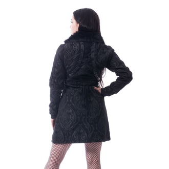 Ženski kaput Poizen Industries - CRAFT COAT - BLACK, POIZEN INDUSTRIES