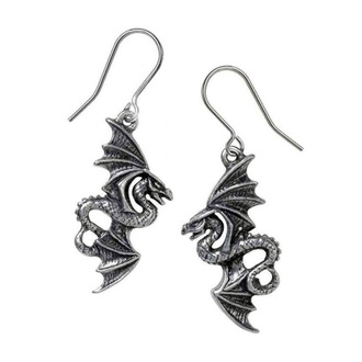 Naušnice ALCHEMY GOTHIC - Flight of Airus - Pewter, ALCHEMY GOTHIC
