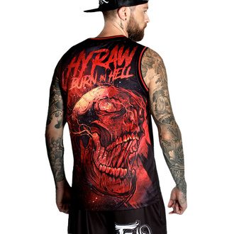Muški top (dres) HYRAW - BURN IN HELL, HYRAW