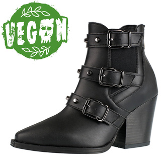 Ženske čizme ALTERCORE - Amasha - Vegan Black, ALTERCORE