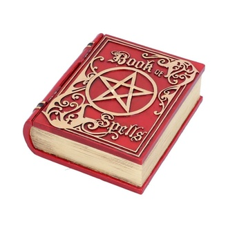 Ukras (kutija) Book of Spells - Red, NNM