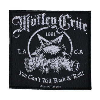 Oznaka Mötley Crüe - You Can't Kill Rock N Roll - RAZAMATAZ, RAZAMATAZ, Mötley Crüe
