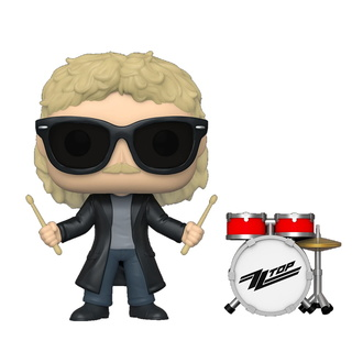 Figura ZZ Top - Frank Beard - POP!, POP, ZZ-Top