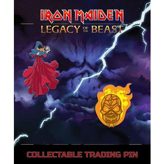 Bedževi Iron Maiden - Legacy of the Beast - Clairvoyant & Wicker Man, NNM, Iron Maiden