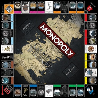 Društvena igra Game of Thrones - Monopoly Collectors Edition - Engleski verzija, NNM, Igra prijestolja
